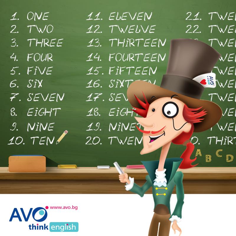 английски език за деца 1 клас в АВО