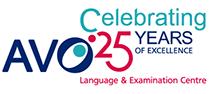 Лого 25 години АВО